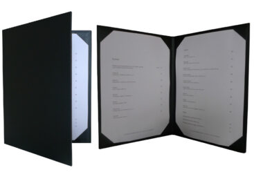 menu cover dyecut frames