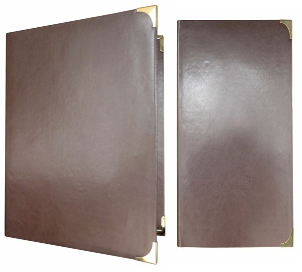 Pu Leather Menu Cover Presentu