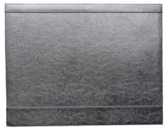 Leather look desk pad