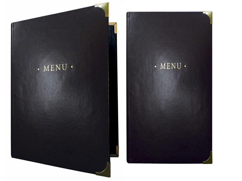 Restaurant Menu Sleeves